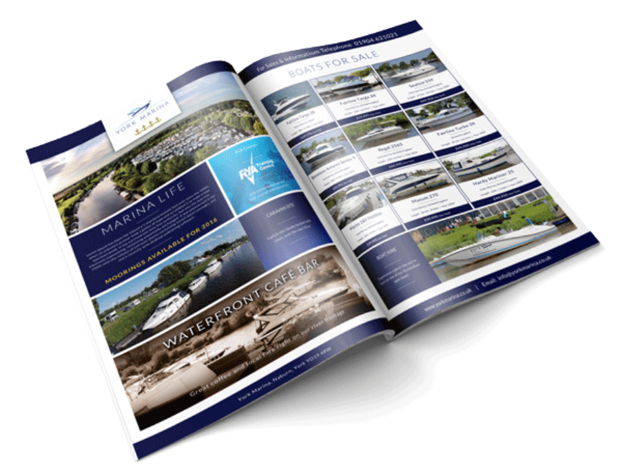 york marina brochure