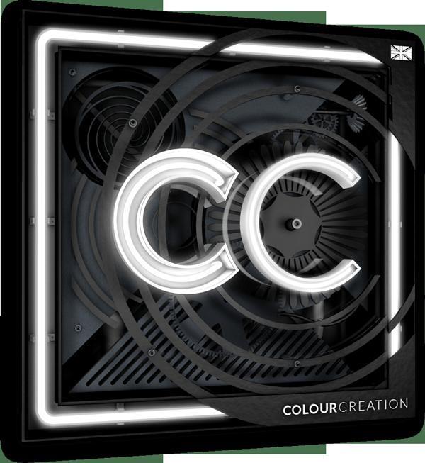 colour creation logo