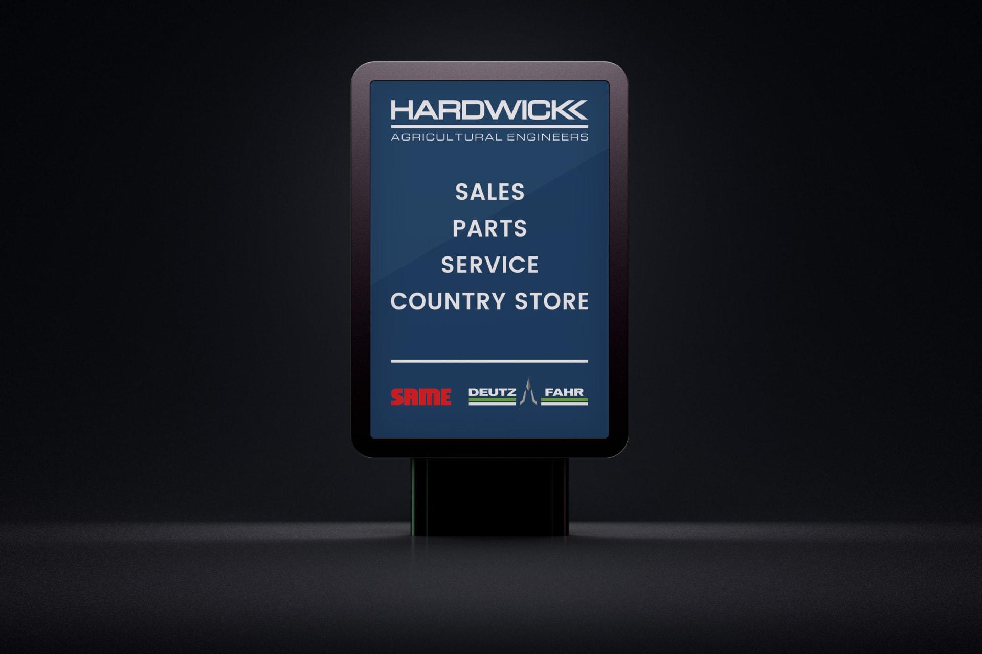 hardwick website pages