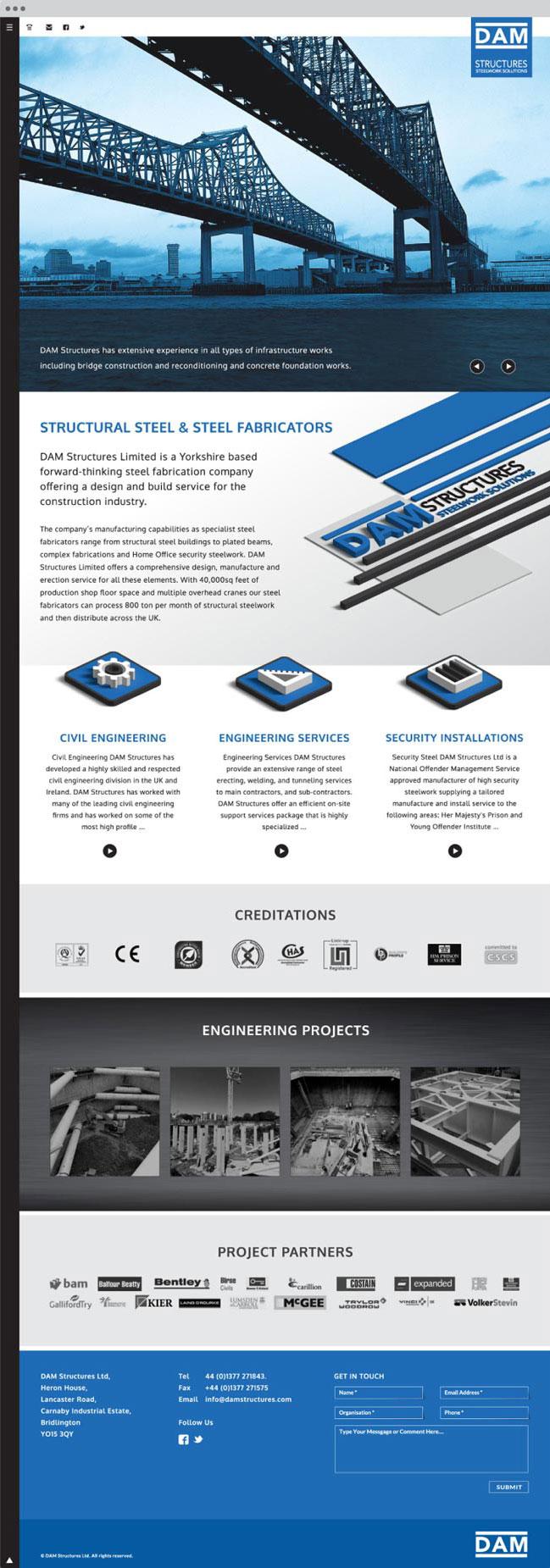 dam structures website